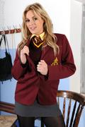 College Uniform - Maroon Blazer