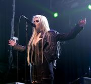 Taylor Momsen performing at the Terminal 5 in New York, November 1, 2011