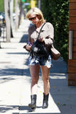 Brittany Snow | Leaving a Hair Salon in LA | July 19 | 7 pics