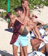 Olivia Palermo romantic day at the beach in St Barts 09-01-2011