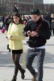 Sonia Ben Ammar - With Brooklyn Beckham at Louvre Museum in Paris | March 10, 2017