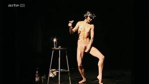 Dancing Nude On Stage