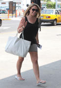 HIlary &amp;amp; Haylie Duff Leggy at the airport in San Lucas Mexico 06/28/12- 21 HQ