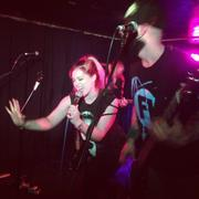 Skye Sweetnam - Cute At Sumo Cyco Gig As Part Of Sumo Cyco's Lost In Ireland And The UK Tour - The Victoria Inn - Derby, England - May 7, 2014 (1xMQ)